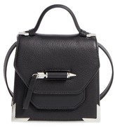 Mackage Mini Rubie Leather Shoulder Bag - Black