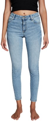 Cotton On Mid Rise Cropped Skinny Jeans