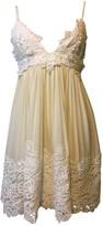 Fausto Puglisi White Lace Dress for Women