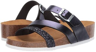 ara Bailey (Blue Glitter/Calf) Women's Sandals