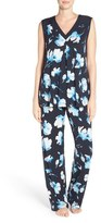 Midnight by Carole Hochman Floral Pajamas