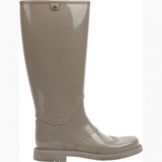 Gucci Grey Rubber Boots