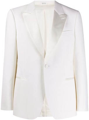 Alexander McQueen Peaked Lapels Single-Breasted Tuxedo