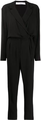 IRO Wrap-Style Top Jumpsuit