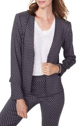 NYDJ Bay City Geometric Print Blazer