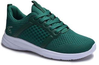 Dream Seek Women's Sneakers GREEN - Green Honeycomb Mesh Sneaker - Women