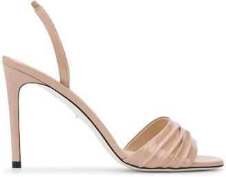 Grey Mer Fiji stiletto sandals