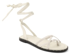 BCBGeneration Zillo Lace Up Flat Sandals Women's Shoes