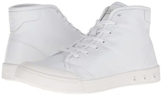 Rag & Bone Standard Issue Leather High Top (White) Men's Shoes