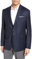 Men's John W. Nordstrom Classic Fit Check Wool Sport Coat