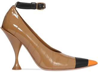 Burberry Tape Detailed Pumps