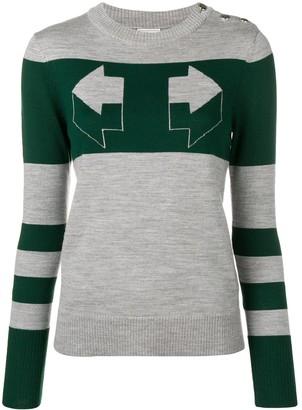 Temperley London Aggie intarsia sweater