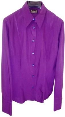 Fendi Purple Synthetic Tops