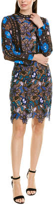 Forever 21 70 Degree 70F/21C Lace Paneled Sheath Dress