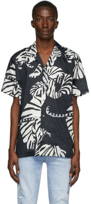 Double Rainbouu Black Nightcrawler Hawaiian Shirt