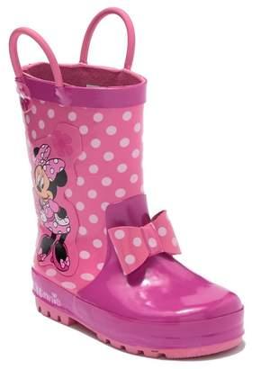Josmo Minnie Mouse Rain Boot (Toddler)