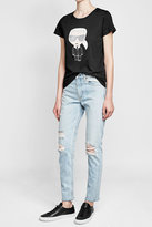Karl Lagerfeld Printed Cotton T-Shirt