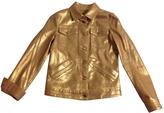 Louis Vuitton Gold Cotton Jacket