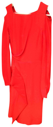 Vionnet Red Synthetic Dresses