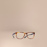 Burberry Square Optical Frames, Brown