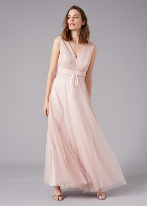 Phase Eight Bronwyn Tulle Maxi Dress