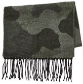 Topman Camouflage Slim Scarf