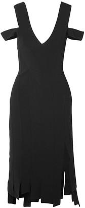 Altuzarra Tiziana Cold-shoulder Stretch-knit Dress