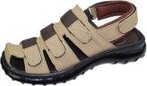 Kollache Boys Mens Velcro Strap Sports Sandals Comfort Walking Summer Beach Mules Shoes