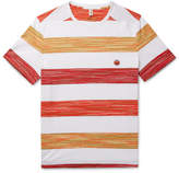 Missoni - Space-dyed Striped Cotton T-shirt