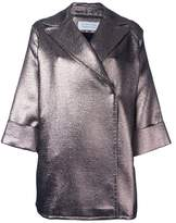 Gianluca Capannolo metallic 'Emma' coat