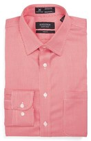 Nordstrom Men's Smartcare(TM) Trim Fit Houndstooth Dress Shirt