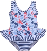 Flap Happy Lobster Ruffle Swimsuit