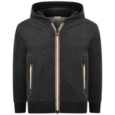 Moncler MonclerBaby Boys Charcoal Zip Up Top