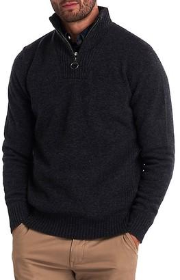 Barbour Essential Lambswool Half-Zip Sweater