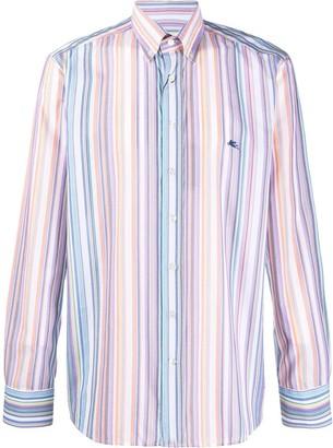 Etro Striped-Print Shirt