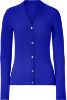 Lucien Pellat-Finet Royal Blue V-Neck Cashmere Cardigan