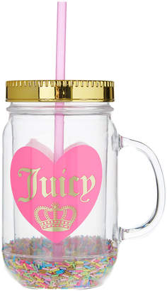 Juicy Couture PINK - Pink & Gold Confetti 'Juicy Couture' Mason Jar