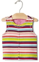 Gap Bright stripe reversible filled vest