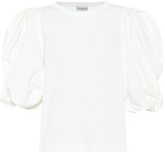 Dries Van Noten Puff-sleeve cotton top