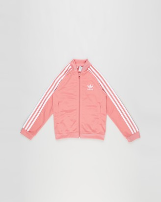 adidas Pink Jackets - Superstar Track Top - Kids-Teens - Size 7-8YRS at The Iconic