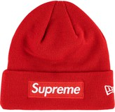 New Era Supreme Box logo beanie