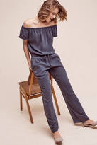 Cloth & Stone Damienne Off-The-Shoulder Jumpsuit