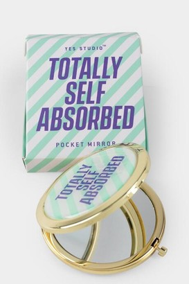 Yes StudioTM Totally Self Absorbed Compact Mirror - Multi