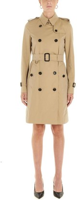 Burberry Kensington Belted Trench Coat