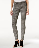 Sanctuary Grease Gingham-Print Leggings
