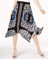INC International Concepts I.N.C. Handkerchief-Hem Midi Skirt, Created for Macy's
