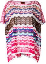 M Missoni knitted poncho