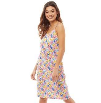 Board Angels Womens Floral Print Sundress Multi