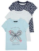 George Butterfly T-Shirts 3 Pack