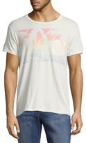 Sol Angeles Printed Short-Sleeve Cotton Tee